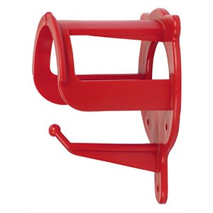 Bridle rack plastic red