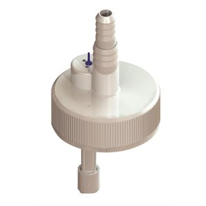 Vented cap and dip tube 38 mm - Instruments Supplies