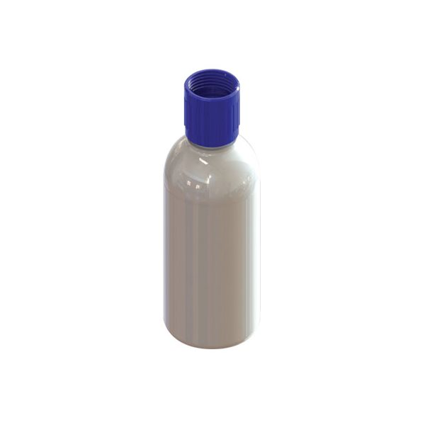Bottle 250 ml with Travel Cap & Threaded Collar 28mm