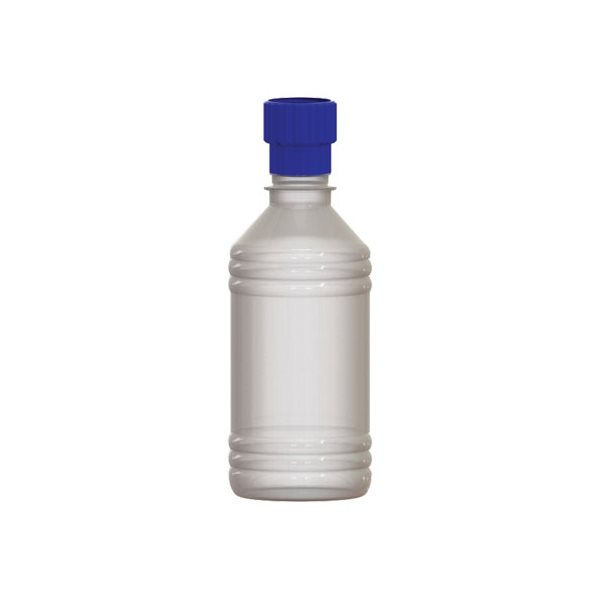 PETE Bottles 502 ml with Travel Caps & Theaded Collar