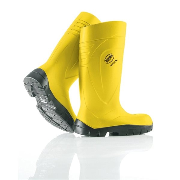 Bekina Steplite yellow Safety Boot size 6