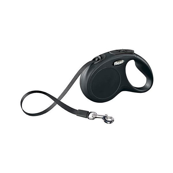 flexi Leash Classic-Tap Black M / L max. 50 kg