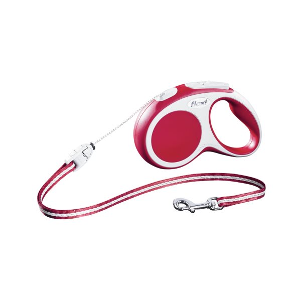 flexi Leash VARIO-Cord Red  S 12 kg