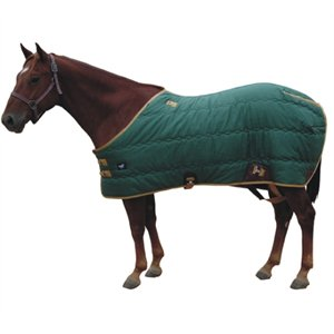 HS stable blanket 420D & 400 g fill 78'' hunter green
