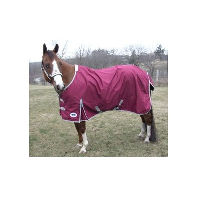 "HS rain sheet blanket 600D, 84"" cranberry"