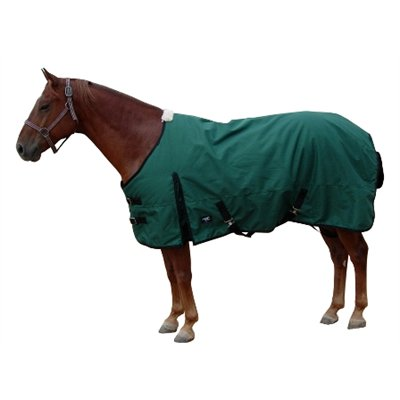 HS turnout blanket 1200D & 400 fill 81'' hunter green