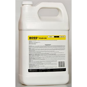 BOSS Pour-On Insecticide RTU 3.785 L