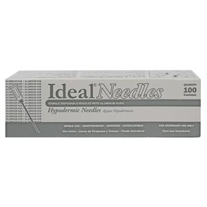 IDEAL® disposable AH needles box / 100