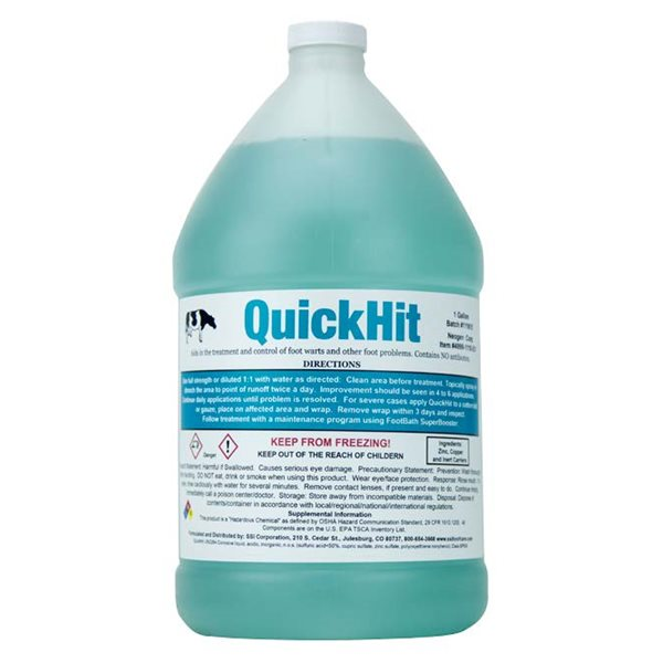 QuickHit Concentrate topical spray 3.8 L