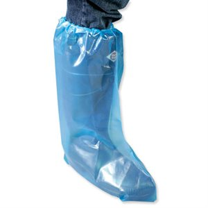 IDEAL® disposable overboots with elastic 3.0 mil. XL  bag / 50