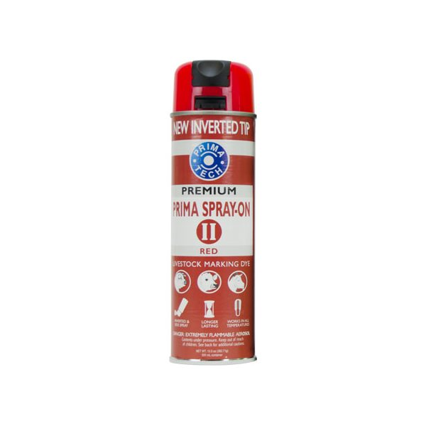 Marqueur aérosol PRIMA Spray-On II Rouge 13.5 onces / 400 ml