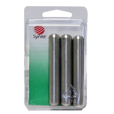Stainless steel magnets pk / 3