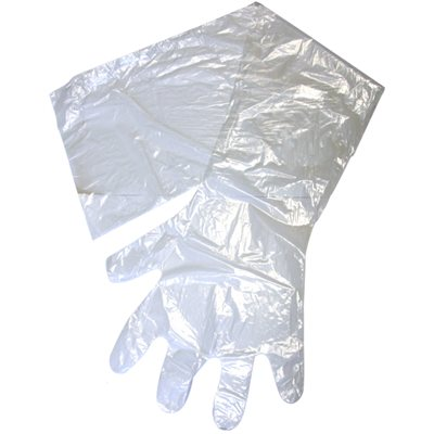 Gants OB / IA SYRVET transparent, 1 mil.   emb / 10 ***