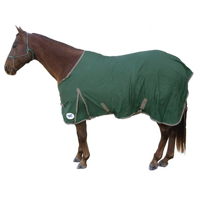 HS  cotton sheet 69'' hunter green