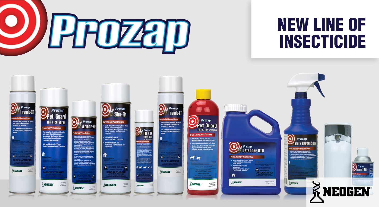 New PROZAP product line